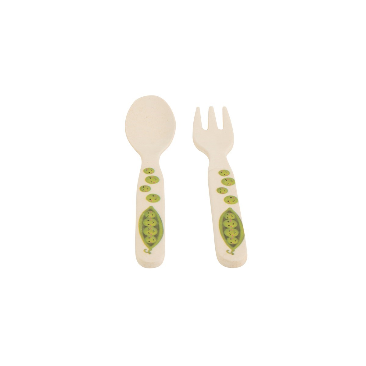 Happy Fruit & Veg Kid's Fork & Spoon Set_0