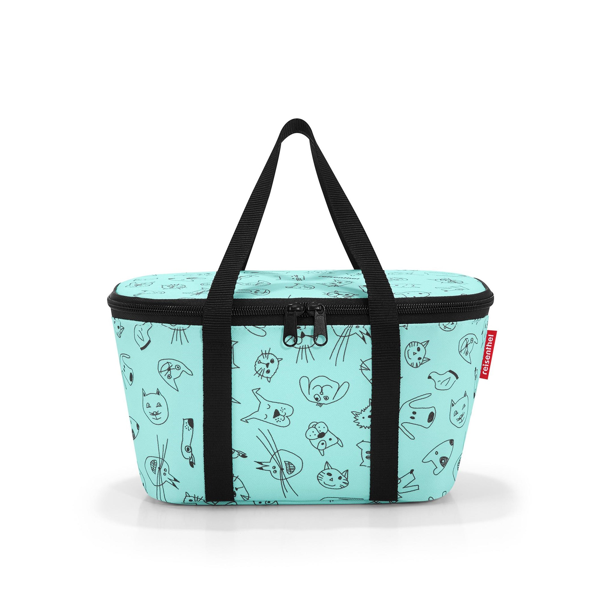 Termotaška COOLERBAG XS kids cats and dogs mint_0