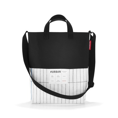 #urban shoulderbag london black & white_1